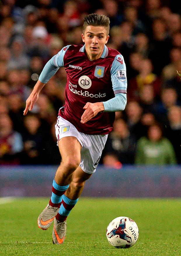 Tough call: Jack Grealish has opted to play for England rather than the Republic