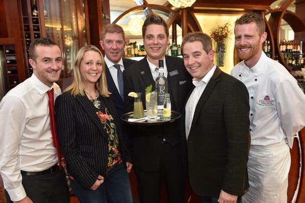 RubyBlue's vodka which is being used at the Culloden Hotel
