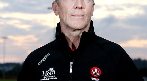 In charge: New Derry boss Damien Barton is relishing the challenge