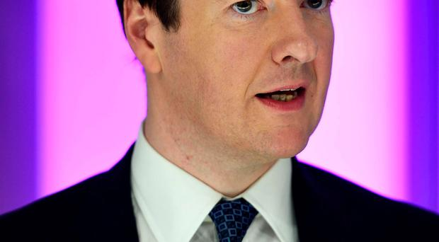 Chancellor George Osborne has received a boost ahead of his Autumn Statement next week