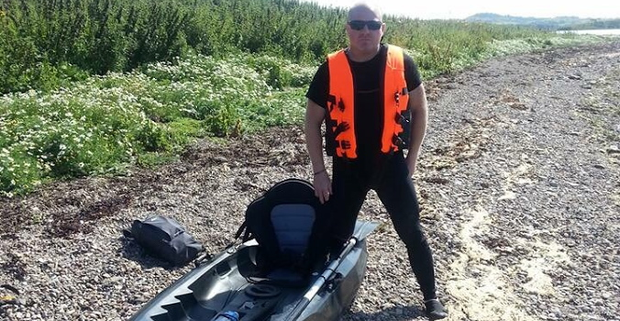 Carrickfergus man Robert Hanna failed to return from a kayaking trip. Image: PSNI