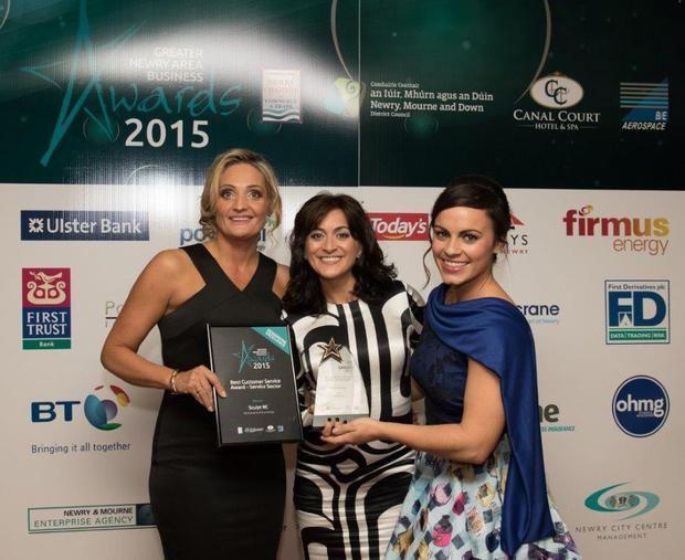 Greater Newry Area Business Awards Gala Ceremony held in the Canal Court Hotel