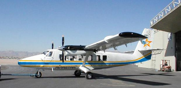 The De Havilland Canada Twin Otter passenger plane that is missing over Indonesia