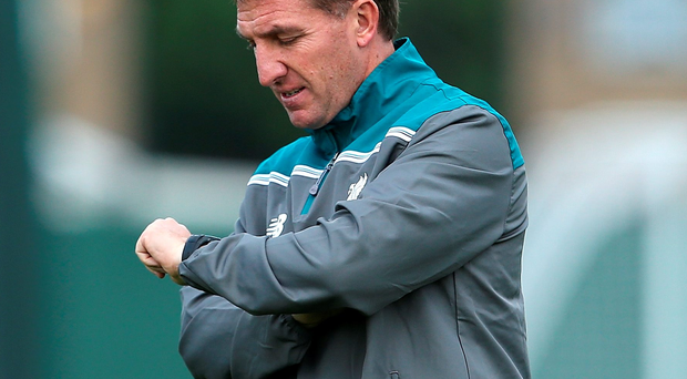 Brendan Rodgers is in need of a lift going into the Merseyside derby