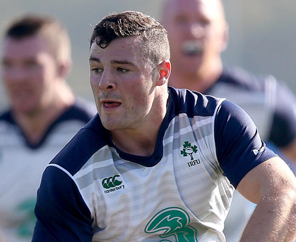 Waiting game: Robbie Henshaw is raring to go