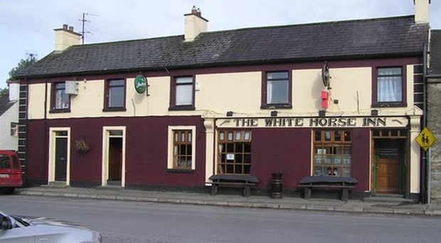 Mr McGill died soon after entering the White Horse Inn.