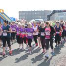 Runners at the Belfast Telegraph Runher Titanic Quarter 5K & 10k. Pic: Andrew Paton/Press Eye.com
