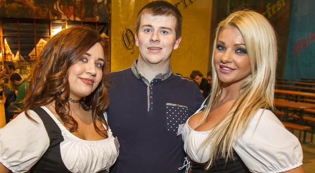 Oktoberfest at King's Hall. 2nd October 2015 by Liam McBurney/RAZORPIX