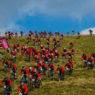 The 2015 Red Bull Foxhunt in the Mourne Mountains, Co. Down.