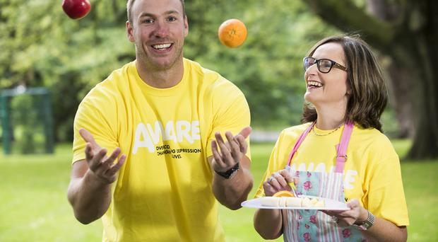 Aware (formerly Aware Defeat Depression) has launched its new DOT campaign with Ulster and Ireland rugby star, Stephen Ferris