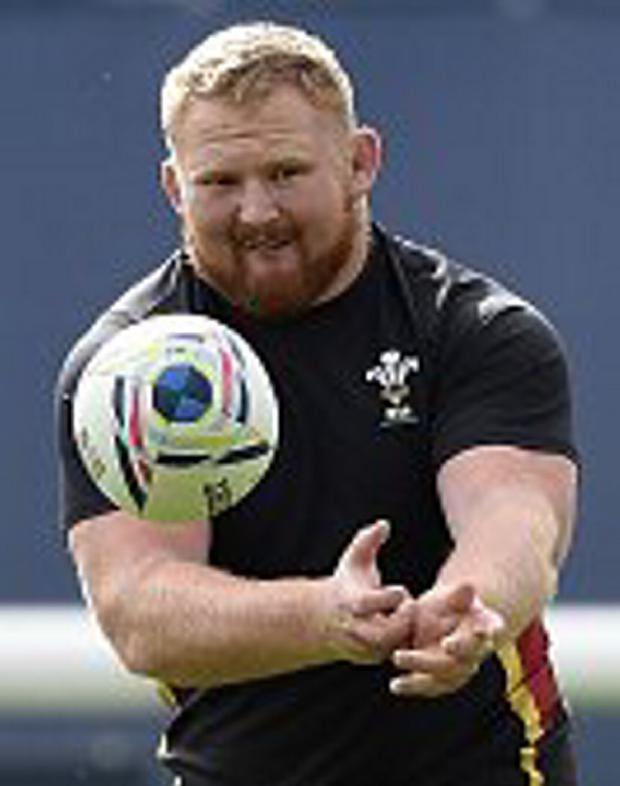 Working hard: Samson Lee