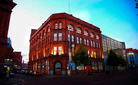 Belfast Telegraph building in 2015