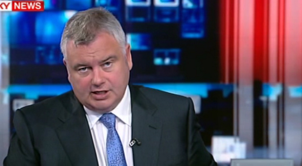 Eamonn Holmes has come under fire over his interview with David Cameron