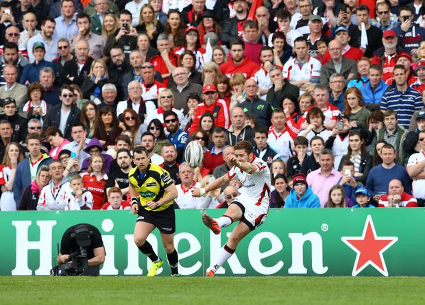 Paddy Jackson returns to the starting line-up for Ulster.