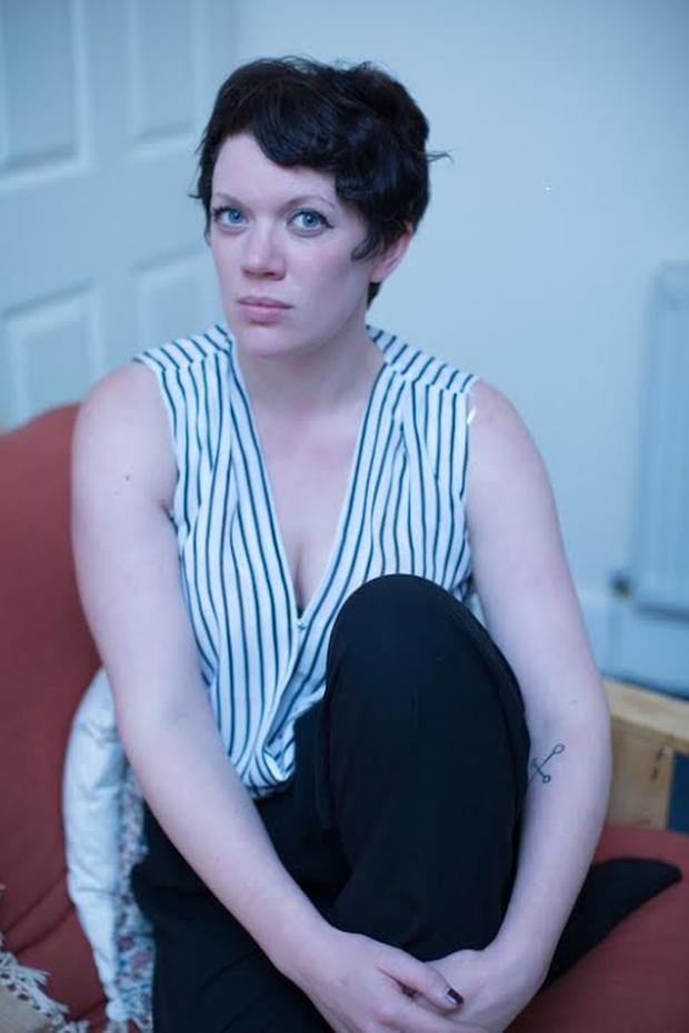Northern Ireland-born poet, Rachel McCrum, is first ever BBC Scotland Poet in Residence. (Photo by Chris Scott)