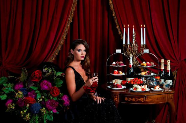 A model for the Fashion Teas weekend, which will be held at The Merchant Hotel. (Collette Creative Photography)