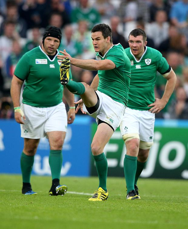Key player: the French will target Johnny Sexton in a bid to gain a foothold in the match