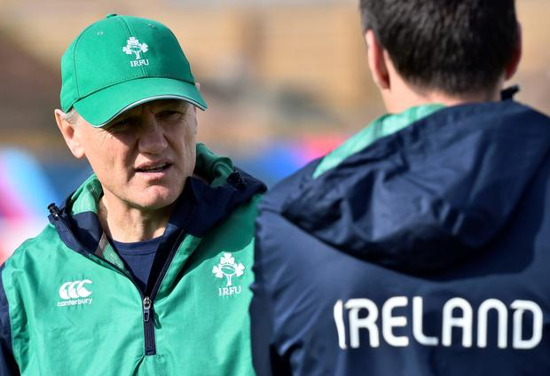 Joe Schmidt took time to thank the 16th player on the field- the fans- for their unrelenting support