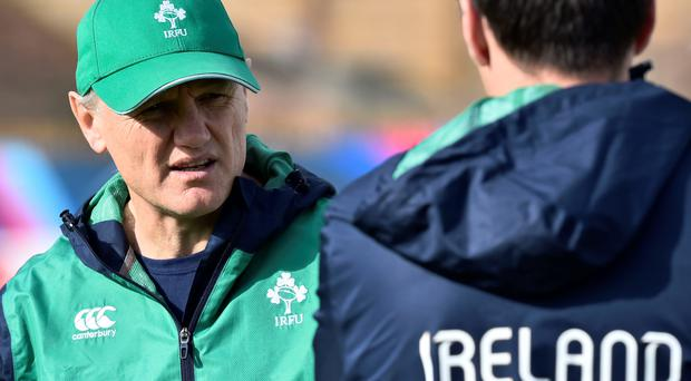Inside knowlege: Joe Schmidt's three years coaching at Clermont will have given him an insight into the French psyche