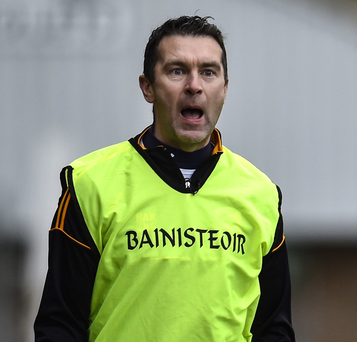 Class act: Oisin McConville was pleased with Crossmaglen