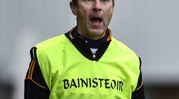 Cross words: Oisin McConville wants his side to be champs