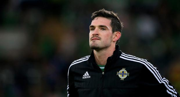 Kyle Lafferty admits he may have to leave Norwich in January. Pic: Niall Carson/PA Wire