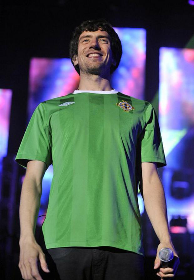 Gary Lightbody is a huge fan of the Northern Ireland team.