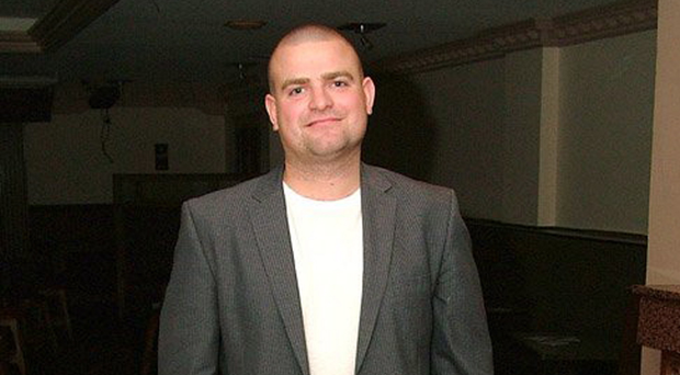 Serial thief: Jay Cartmill has served time in prison and is now helping stage prestigious events.