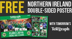 Don't forget to pick up Friday's Belfast Telegraph to get your free Northern Ireland double-sided poster!