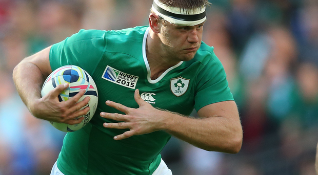 Charging on: Chris Henry doesn't want to have any regrets as Ireland bid for their first semi-finals at a World Cup