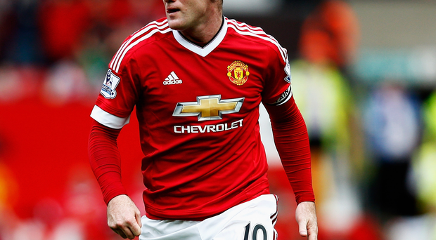 Poor return: Wayne Rooney has two goals in 10 games for United at Goodison Park