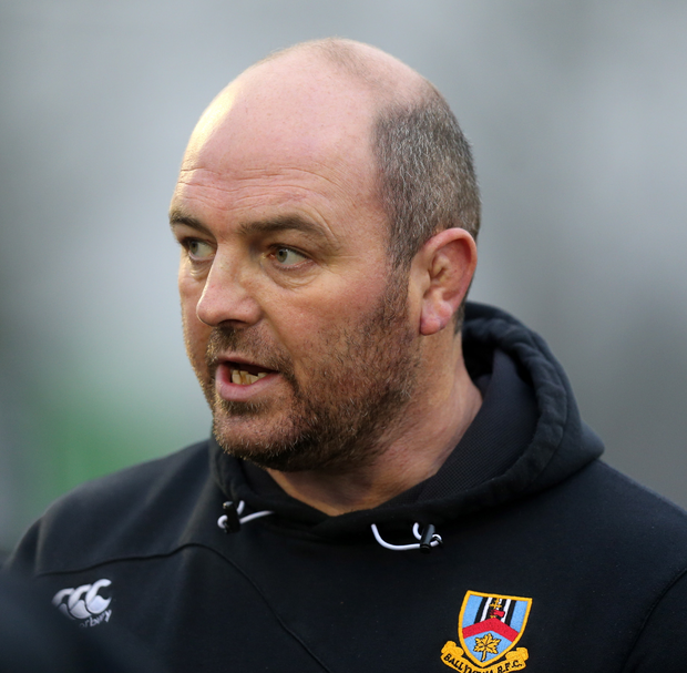 Ballymena Head Coach Andy Graham
