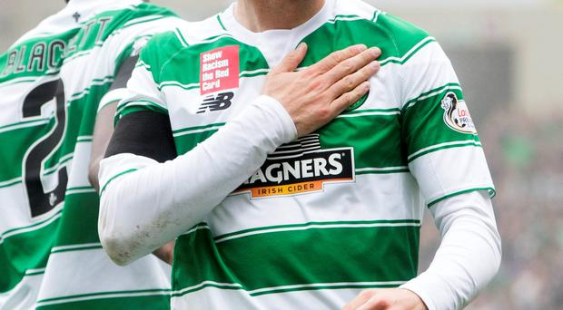Top Bhoy: Nadir Ciftci scored the only goal of the game