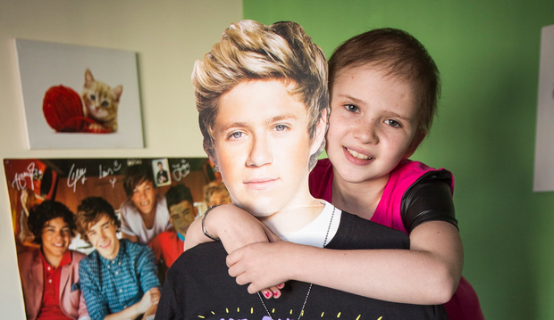 Little Molly Taylor from Ahoghill will be meeting One Direction