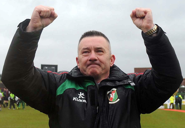 Hurt: Eddie Patterson feels he has been denied the chance to turn things around at Glentoran