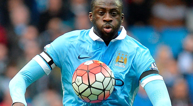 Winner: Yaya Toure has defended his record