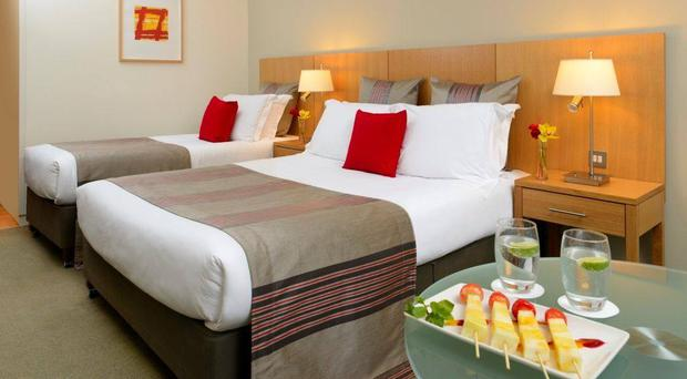 Clarion Hotel standard bedroom. Pic from Clarion Hotel Cork website
