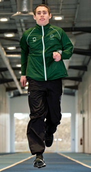 Full speed ahead: Jason Smyth begins his quest for 100m gold in the IPC World Championships today in Doha