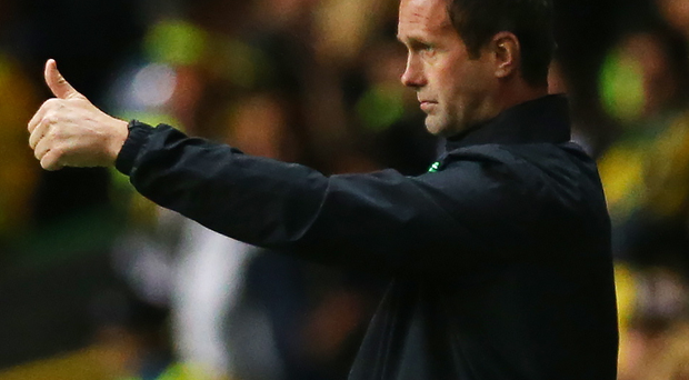 High praise: Celtic manager Ronny Deila has recevied the seal of approval from his opposite number at Molde