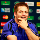 Keeping focused: Richie McCaw insists the All Blacks are under no illusions ahead of the World Cup semi-final with South Africa