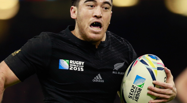 Catching the eye: Nehe Milner-Skudder has been showing offhis creative attacking and finishing flair for New Zealand