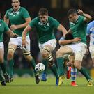 Green shoots: Jack McGrath, Iain Henderson and Robbie Henshaw offer hope for Ireland's future