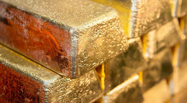 Gold worth more than £2.5m, which was smuggled into the UK by a criminal gang, is to be sold at auction in Belfast next week. Stock image