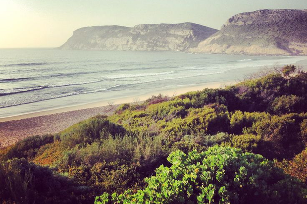 Robberg Beach, Plettenberg Bay, South Africa.