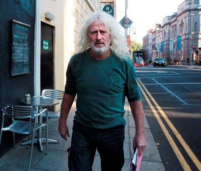 Independent Wexford TD Mick Wallace. Pic: Sunday Indpendent.