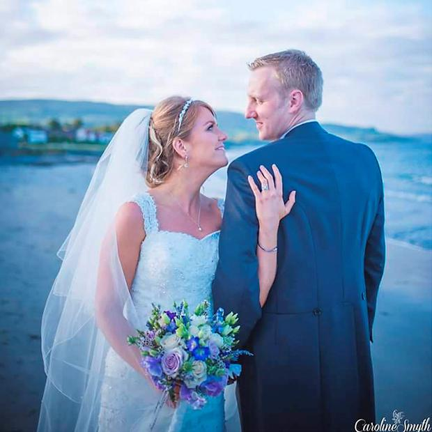 John and Lynette Rodgers, a newly-wed couple from Co Down who drowned off the coast of South Africa while on honeymoon. Caroline Smyth Photography/PA Wire.