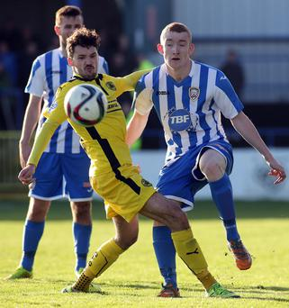 Tester: Rodney Brown takes on Cliftonville's Tomas Cosgrove
