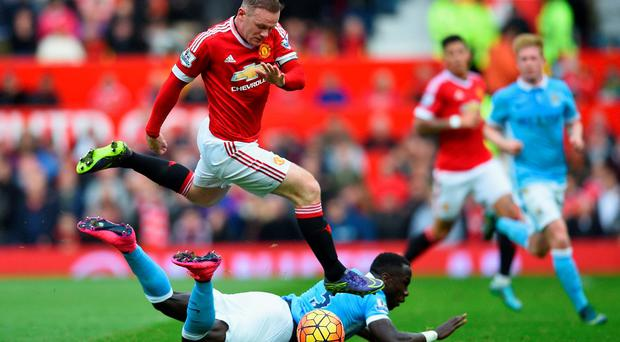 Disappointing: Wayne Rooney isn't having an impact on United