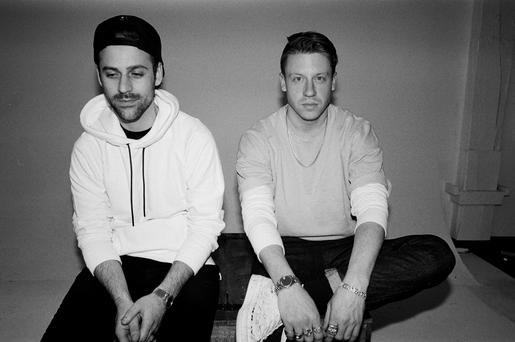 Macklemore and Ryan Lewis. Picture: Amanda Smith