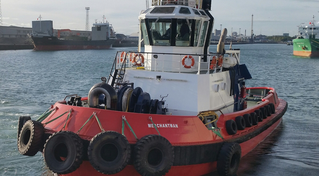 The arrival of the ASD Merchantman has increased SMS Towage's investment in Belfast to £9m